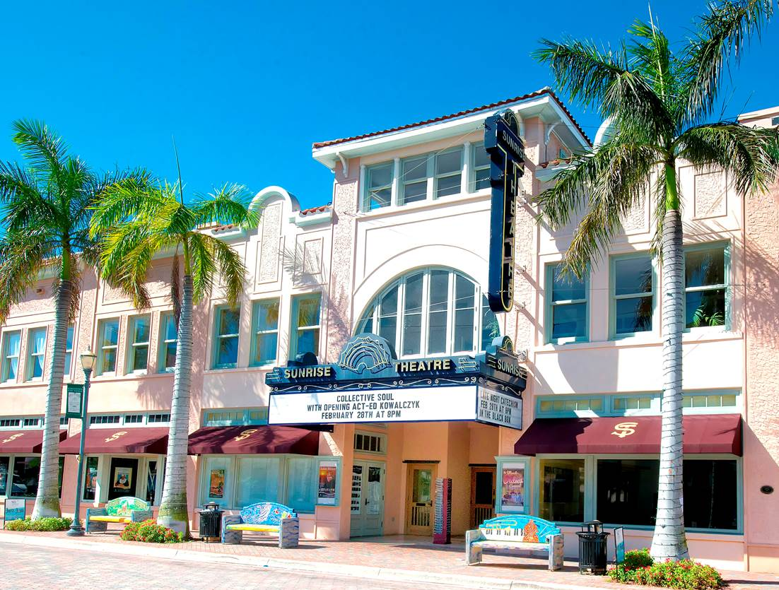 Sunrise Theatre - Palm Beach Florida